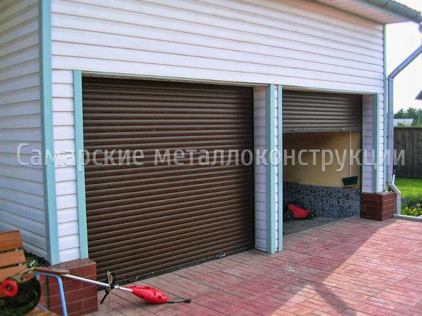 Купить автоматические ворота гаражные недорого